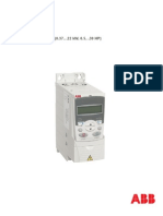 ABB Drives ACS350 User Manual