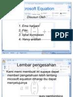 Microsoft Equation