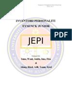 Inventori Person Ali Ti Eysenck Junior