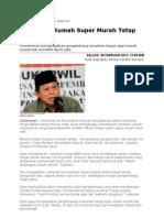 Kliping Berita Perumahan Rakyat Online, 29 Februari 2012
