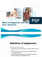 What is Plagiarism and How Can I Avoid It