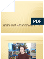 GRUPA MICA – Gradinita nr