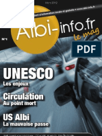 Albi-info le mag numéro 1 Mars 2012