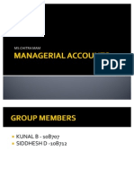 Managerial Accounts Sem 3