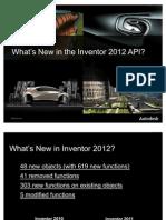 Inventor 2012 New API