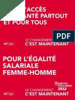 Affichettes François Hollande