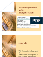 Accounting Standard on Intangible Assets