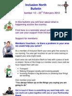 Inclusion North Bulletin 12