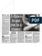 Trance Dance Jane Alexander Article 90's