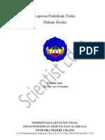 Laporan Praktikum Fisika Hukum Hooke