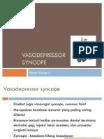 Vasodepressor Syncope