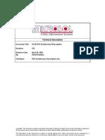 Microsol XCell RTU - Architecture Description V