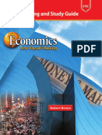 ECONOMICS - Guided Reading and Study Guide