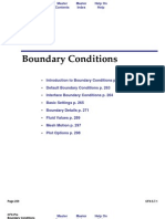 Pre Boundary Conditions