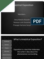 Analytical Exposition DesyTasyaYogo2003