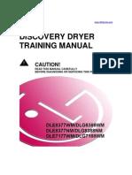 LG Dryer DLE DLG Training Manual