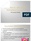 Pharmacology Final Botanical Medicine