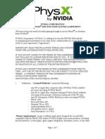 Nvidia Physx Sdk Eula