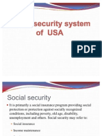 Social Security System of USA