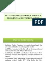 Presentation for Active Management