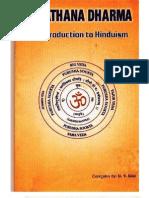 Introduction to Hinduism - U V Kini