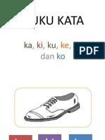 suku kata k