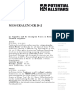 Messekalender 2012 Berlin