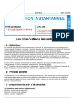 Document Fomation Oim Observation Instant an Nee