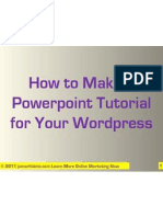 How to Make a Power Point Tutorial for Your Blog 3 PDF