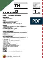 Abarth World News & Catalog 1º (GER)
