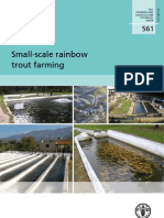 Small Sacle Farming of Rainbow Trout