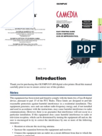P400 Basic Manual