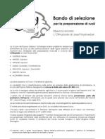 Bando Di Selezione - L'Olimpiade (It)