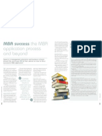 MBA success the MBA application process and beyond, by Kin Ly