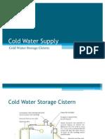 Cold Water Storage Cistern