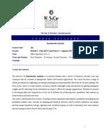 Quantitative_Analysis Outline 2011-12
