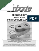 Grizzly Ukulele Kit H3125 Manual
