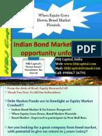 Street Smart Newsletter Oct'08  (Indian Stock Market) - Indian Bond Market