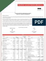 Hol Etats Financiers 2007