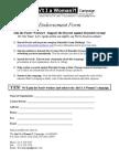 Pactiv-AIW Endorsement Form (Final) 2-28-12