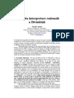 Impatrita Interpret Are Rationala a Divinitatii