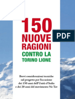 150 ragioni contro la realizzazione della Torino-Lione (No Tav)