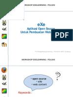 Presentasi eXe Versi PDF