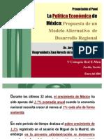"""Modelo Alternativo de Desarrollo Regional"", V Coloquio Red E Mun Puebla 2008"""