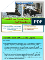 HBJ Capital's Newsletter  (Indian Stock Market)  - Transitions From Bear Markets to Bull Markets