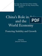 China's Role in Asia & World's Economy