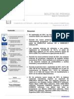 Boletin importaciones Colombia DANE SEP11