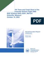 NTSB AmEx-IRK 04-1019 Accident Rpt 06-0124