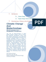 Climate Change and Biotechnology