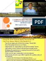 Camson Bio Tech (Multibagger) - HBJ Cap's 10in3